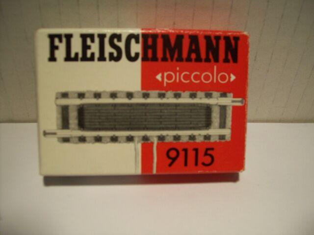 Fleischmann 9115 Gerades Gleis mit Schaltkontakt, Schaltgleis Spur-N Neuware