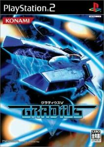 USED-PS2-Gradius-V-5-From-Japan-Import