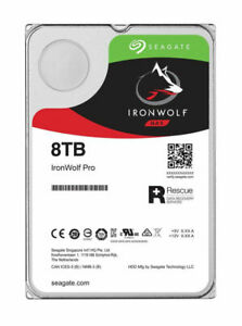 Seagate IronWolf (7200RPM, 3.5-inch, 256MB Cache) 8TB Internal Hard Drive - ST8000VN004