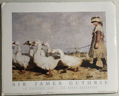 Guthrie Pastures New Scottish Realism Painting Large Canvas Art Print