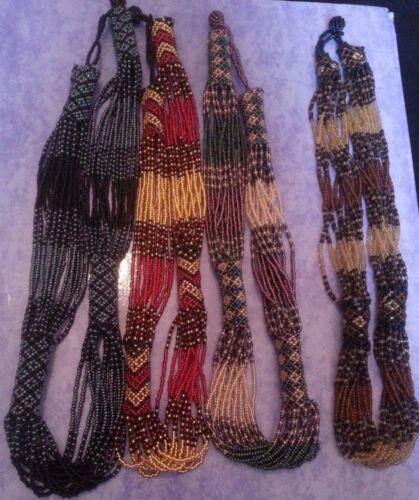 HAND Beaded collana africana