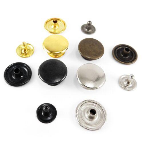 Single cap rapid rivets 15 mm cap stud dot belt bags shoes leather craft AMY