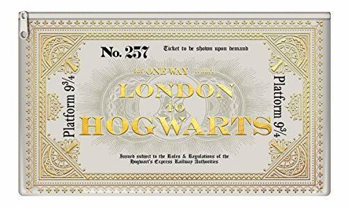 Schule Schreibwaren Kinder Harry Potter Express Ticket Federmäppchen