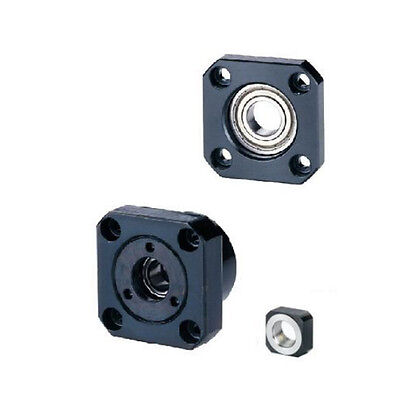 1pcFK10 Fixed Side 1 pcs FF10 Floated Side for SFU1204 Ballscrew CNC part