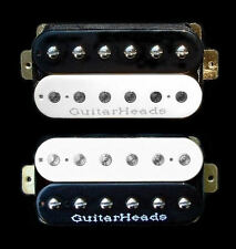 Guitar Pickups - GUITARHEADS ZBUCKER HUMBUCKER - SET 2 - BLACK & WHITE ZEBRA