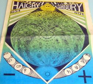 1968-HAIGHT-ASHBURY-TRIBUNE-Vol-1-7-PSYCHEDELIC-HIPPIES-UNDERGROUND-NEWSPAPER