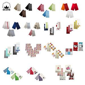 Set-of-6-100-COTTON-Assorted-Kitchen-Hand-Dish-Cloth-Tea-Towels