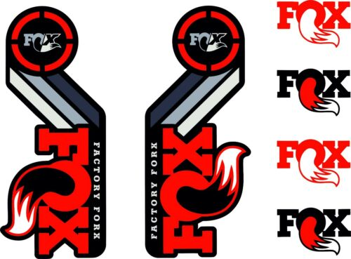 Shock Sets RED FOX Racing Shox AM Heritage Sticker Decal 2015 Kit Fork