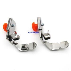 CY-705L-2piece-Reglable-Zipper-Pied-de-Tuyauterie-Fit-pour-Brother-SA161