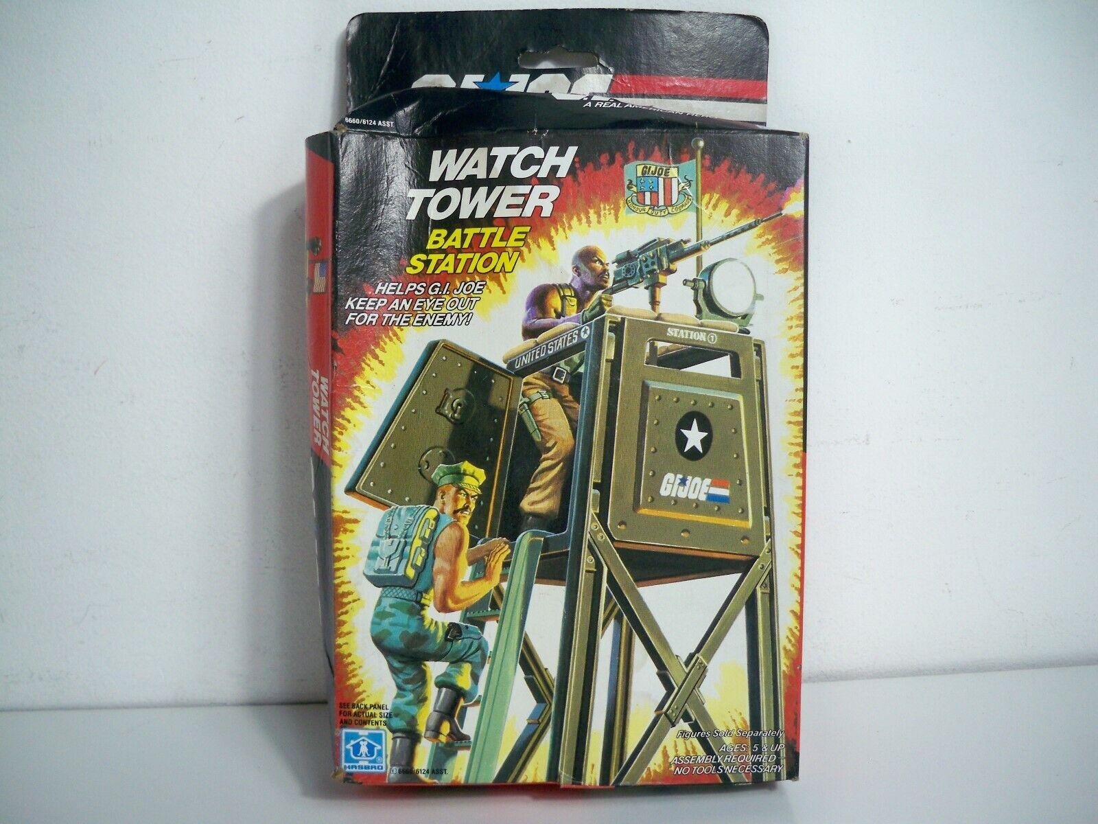 K1905721 WATCH TOWER MISB MINT IN SEALED BOX 1984 GI JOE ORIGINAL VINTAGE