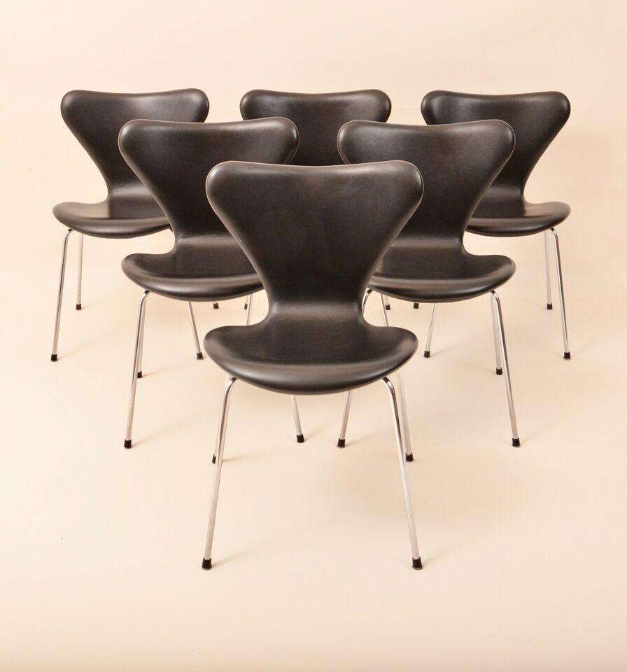Arne Jacobsen, 3107 ( 7'er stol ), – dba.dk – Køb og Salg af