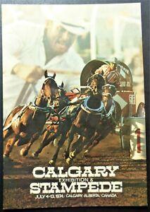 CANADA-ALBERTA-POSTCARD-CALGARY-EXHIBITION-amp-STAMPEDE-JULY-4-13-1974