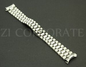 20-MM-Silver-President-jubilee-Watch-Band-Bracelet-For-Stainless-fits-for-Rolex