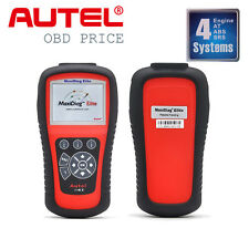 Autel Maxidiag Elite MD802 4 System OBD2 Auto Diagnostic Tool OBDII Code Scanner