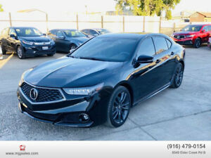 2018 Acura TLX 3.5 w/Technology Pkg & A-SPEC Pkg Sedan 4D