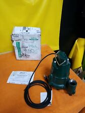 Zoeller N98 12 Hp Cast Iron Submersible Sump Pump Non Automatic