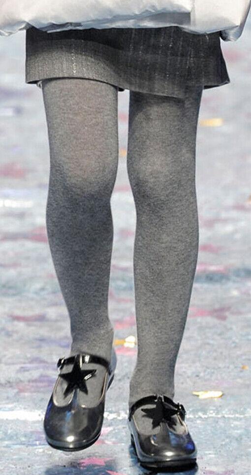 1 filles Plaine Coton Riche back to school children/'s Collants//Toutes Les Tailles