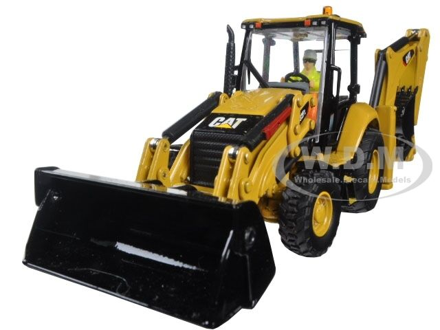 CAT Caterpillar 432F2 chargeuse-pelleteuse High Line Série 1 50 DIECAST Masters 85249