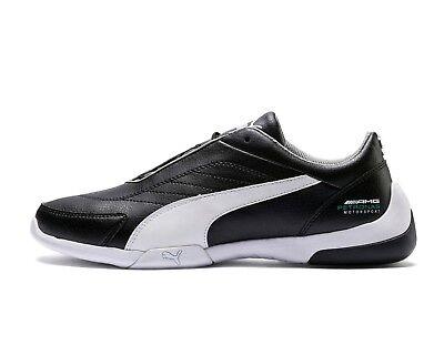 chaussure puma mercedes blanche