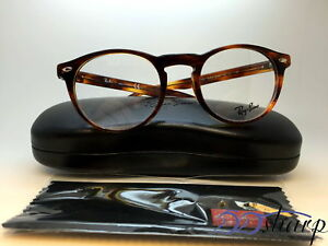 cfd1df01ef7 Image is loading Ray-Ban-Eyeglasses-RB-5283-2144-49-Striped-