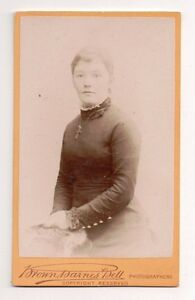 Vintage-CDV-Unknown-Victorian-Woman-Photo-by-Brown-Barnes-amp-Bell-London