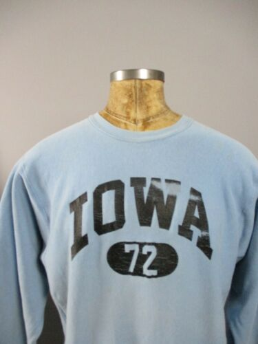 Vtg 80s Iowa Champion Reverse Weave Sweatshirt