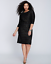 LANE-BRYANT-Metallic-Sheath-Dress-Plus-14-16-18-20-24-26-28-Crinkled-1x-2x-3x-4x thumbnail 1