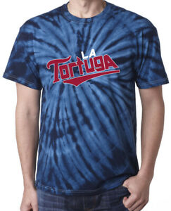 Tie-Dye-Willians-Astudillo-Minnesota-Twins-034-La-Tortuga-034-T-Shirt