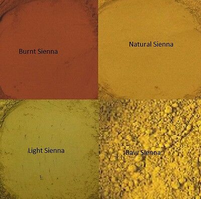 What Color Is Sienna >> Sienna Earth Pigment Powder Colour Paint Varnish Resin Etc 1 X 20g Bag Ebay