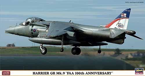 HARRIER GR Mk.9  FAA 100TH ANNIVERSARY  Hasegawa 09921
