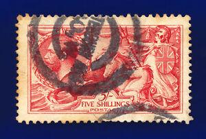1913-SG401-5s-Pale-Rose-Carmine-Waterlow-N66-2-Shaftesbury-Ave-GU-Cat-375-chcj