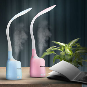 Easehold 2 in1 USB Table Lamp Humidifier LED Night Light Air Purifier 160ml 【US】