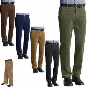 Para Hombres Pantalones De Pana Cable Formal Smart Casual Oficina Mas Tamano Pantalones No Cinturones Ebay