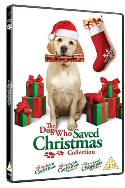 Dog Who Saved Christmas Trilogy Collection DVD Part 1 2 3 Movie Films New UK R2