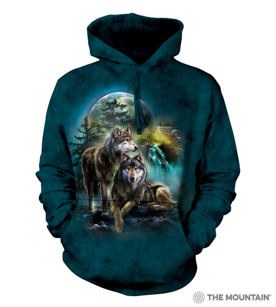dcc36a3123 Wolf Lookout The Mountain Hoodie - S through 3X nbscfo16499-Hoodies ...