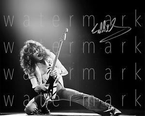 Eddie-Van-Halen-signed-8-034-X10-034-print-photo-poster-pic-autograph-RP