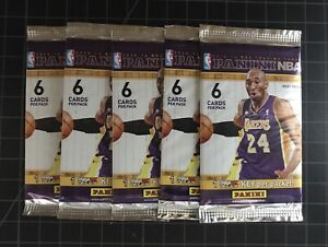 2013-Panini-NBA-Basketball-Cards-INT-039-L-Lot-of-5-Sealed-Packs-Giannis-Rookie