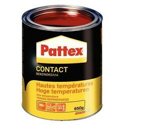 COLLE CONTACT NEOPRENE HAUTE TEMPERATURE 650 GR PATTEX