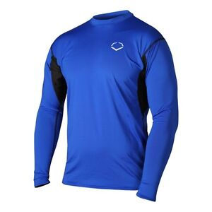 EvoShield Men/'s Performance Long Sleeve Training Shirt Black