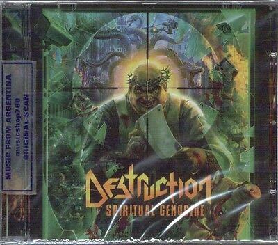 DESTRUCTION SPIRITUAL GENOCIDE + 2 BONUS TRACKS SEALED CD NEW