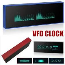 Acrylic Vfd Clock Audio Vu Meter Music Spectrum Db Indicator Level Display