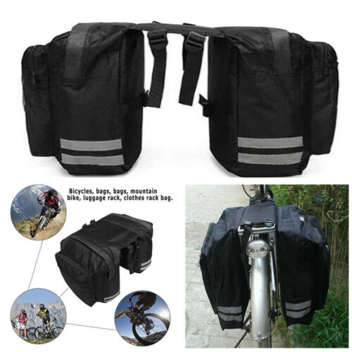 Bicycle Waterproof Storage Saddle Bags Bike Seat Cycling Rear Pouch Outdoor