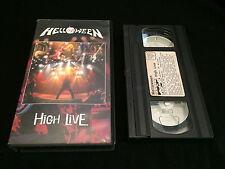 HELLOWEEN HIGH LIVE VHS VIDEO