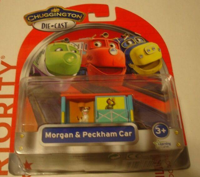 Tomy 2011 Chuggington Morgan & Peckham Car Die-Cast