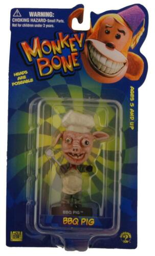 "Bbq cochon Monkey Bone Little Big Head 4/"" Mini Figure"