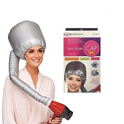 Portable Soft Hair Drying Cap Bonnet Hood Hat Blow Dryer Attachment OMWAH