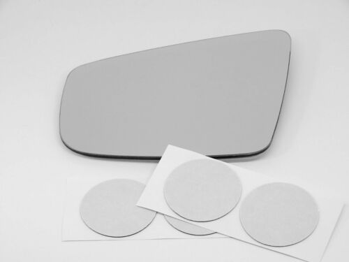Fits 10-12 Buick Lacrosse Left Driver Mirror Glass Lens Heated w// adhesive