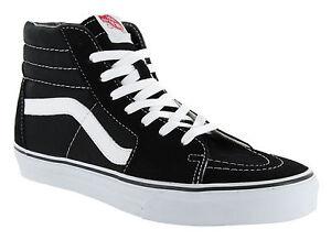 Détails sur Vans Classic SK8 Hi Tops Noir Blanc Homme Skateboard Chaussures de tennis VN000D5IB8C afficher le titre d'origine