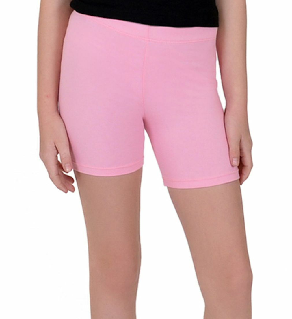 Cotton Spandex Bike Shorts Misses Womens Plus Size Mid Thigh Many Colors S-5XL