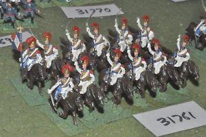 25 mm Napoléon / Français - Carabiniers 12 figures Cav (31761)
